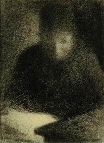 G.Seurat, Lesende Frau by AKG  Images