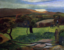 Paul Gauguin, Landschaft in der Bretagne by AKG  Images