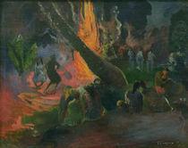 P.Gauguin, Der Feuertanz von AKG  Images