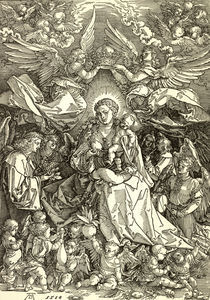 Duerer, Maria als Koenigin der Engel von AKG  Images