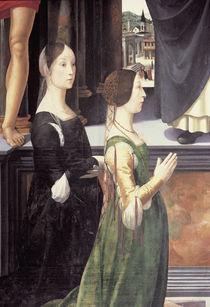 D.Ghirlandaio, Altar Rimini, zwei Frauen von AKG  Images