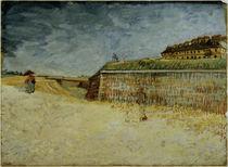V.van Gogh, Festungswaelle von Paris von AKG  Images