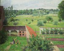 Pissarro/Blick aus m.Fenster,Eragny von AKG  Images