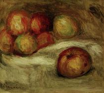 Renoir, Nature morte avec pommes von AKG  Images