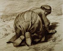 Vincent van Gogh, Kniende Baeuerin by AKG  Images
