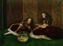 J.E.Millais, Leisure Hours by AKG  Images