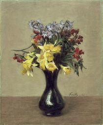 H. Fantin Latour, Fleurs de printemps von AKG  Images