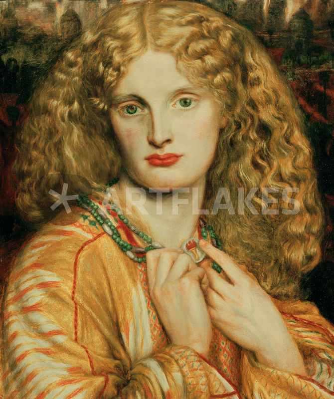 Dgrossetti Helena Von Troja Picture Art Prints And Posters By