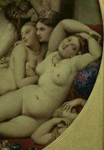 J.A.D.Ingres, Das Tuerkische Bad (Ausschn von AKG  Images