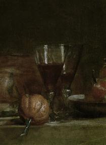 J.B.S.Chardin, Stilleben mit Olivenglas by AKG  Images