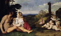 Tizian, Allegorie der drei Lebensalter von AKG  Images