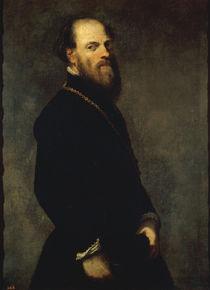 Tintoretto, Edelmann mit goldener Kette by AKG  Images
