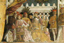 Lodovico Gonzaga u. Familie / Mantegna von AKG  Images