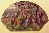 C.Pissarro, Stangen setzende Baeuerinnen von AKG  Images