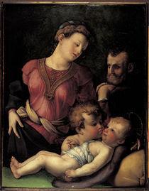 nach Bronzino, Hl.Familie mit Johannes by AKG  Images
