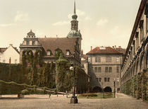 Dresden, Schloss, Stallhof / Photochrom von AKG  Images