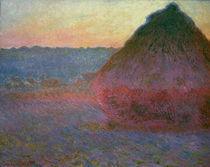 Monet, Heuhaufen by AKG  Images