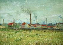 V.v.Gogh, Fabriken in Asnieres von AKG  Images