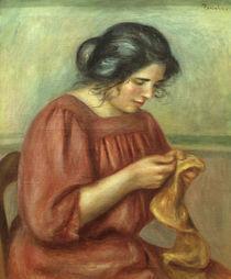 A.Renoir, Gabrielle beim Naehen by AKG  Images