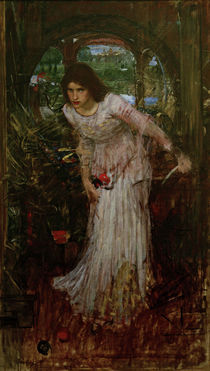 Tennyson, The Lady of Shalott/Waterhouse by AKG  Images