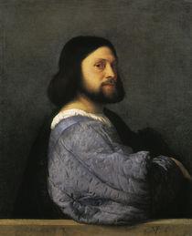 Tizian/ Bildnis eines Mannes/1506 von AKG  Images