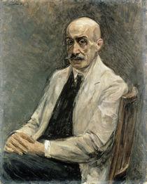 Max Liebermann, Selbstbildnis 1918 von AKG  Images