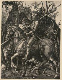 A.Duerer, Ritter, Tod und Teufel by AKG  Images