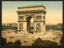 Paris, Ars de Triomphe / Photochrom by AKG  Images