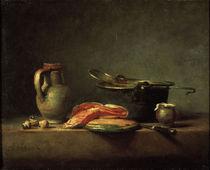 J.B.S.Chardin, Kuechenstilleben von AKG  Images