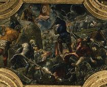 Verteidigung von Brescia 1438 / Tintor. by AKG  Images