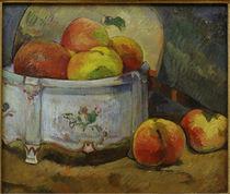 P.Gauguin, Stilleben mit Pfirsichen von AKG  Images