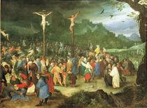 J.Brueghel d.Ae., Kreuzigung Christi by AKG  Images