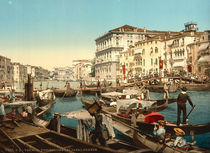Venedig, Canal Grande, Prozession by AKG  Images