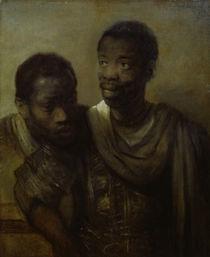 Rembrandt, Zwei Mohren by AKG  Images