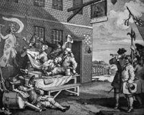 Hogarth, The Invasion / England von AKG  Images
