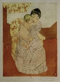 M.Cassatt, Frau und Kind by AKG  Images