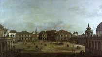 Dresden,Zwinger / Gemaelde von Bellotto by AKG  Images