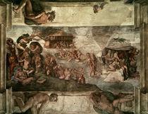 Michelangelo, Sintflut von AKG  Images