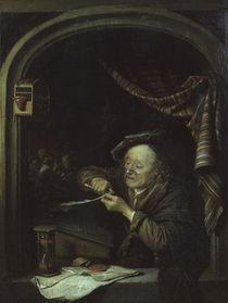 Gerard Dou/ Der alte Schulmeister/1671 von AKG  Images