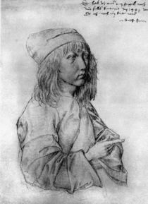 Duerer, Selbstbildnis / Zeichnung 1484 by AKG  Images