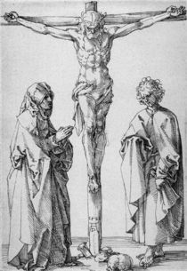 A.Duerer, Christus am Kreuze.... by AKG  Images
