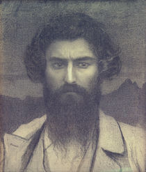Giovanni Segantini, Selbstportraet by AKG  Images