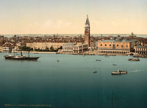 Venedig, Dogenpalast / Photochrom von AKG  Images