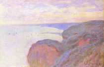 C.Monet, Auf der Steilkueste bei Dieppe von AKG  Images