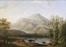 J.Ph.Hackert, Landschaft bei Itri von AKG  Images