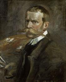 Fritz von Uhde, Selbstbildnis 1898 by AKG  Images