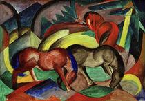 F.Marc, Drei Pferde von AKG  Images