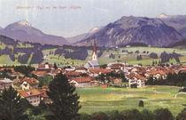 Oberstdorf i.Allgaeu / Postk., ca. 1910 von AKG  Images