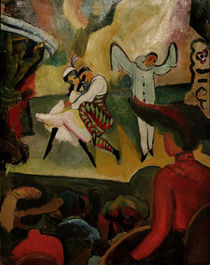 August Macke, Russisches Ballett by AKG  Images