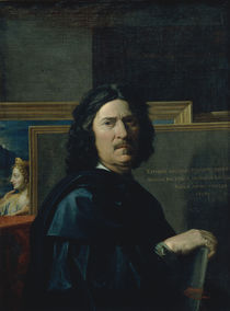 Nicolas Poussin, Selbstbildnis by AKG  Images